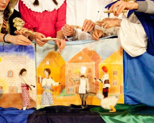 Teatrino di marionette in VII Classe