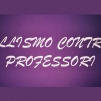 Il bullismo contro i professori