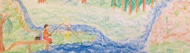 Disegno pescatore
