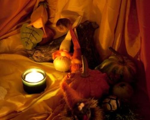 L´autunno e il tavolo delle stagioni