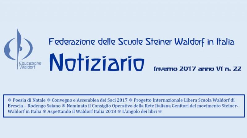 Notiziario n. 22 Federazione Scuole Waldorf