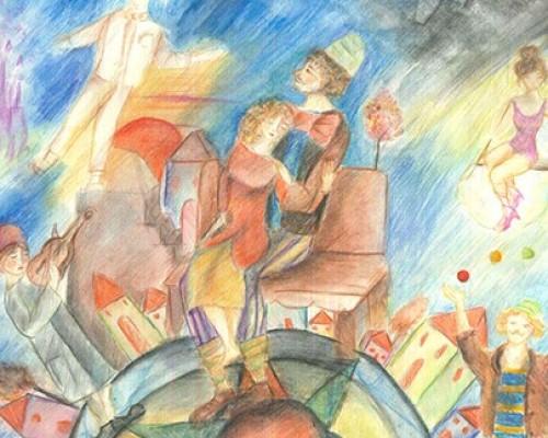 La favola dei saltimbanchi - invito alla Recita di VIII Classe