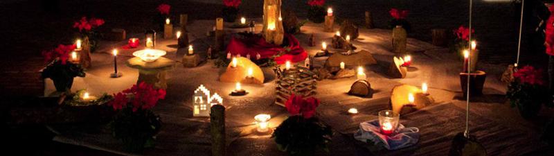 candele esterno bazar