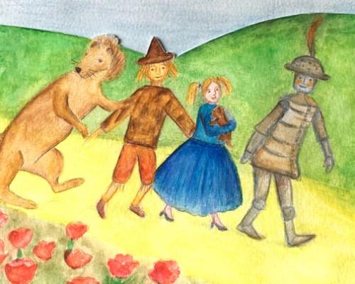 Recita VIII classe  Il Mago di Oz